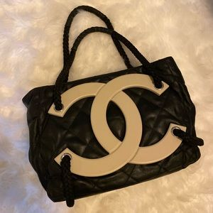 Authentic Chanel Cruise Beach Tote Bag
